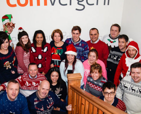 Comvergent Christmas Jumper Day